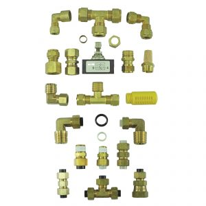 brass compression fittings 1