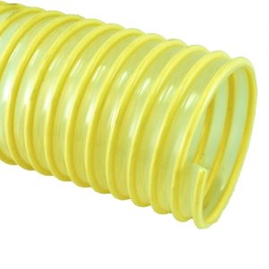 yellow pu ducting hose
