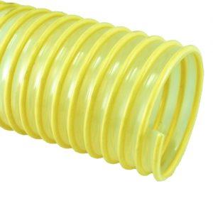 yellow pu ducting hose